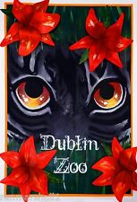 Dublin Zoo Phoenix Park Ireland Great Britain Advertisement Art Poster