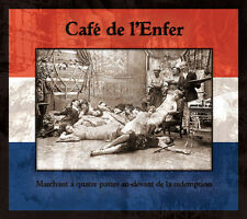 CAFÉ DE L'ENFER - Marchant à quatre CD DERNIERE VOLONTE Death in June Blood Axis