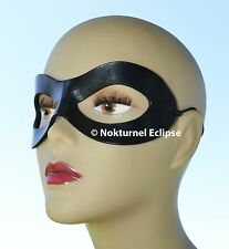 Harley Quinn Black Leather Mask Arkham Asylum Batman Halloween Superhero Cosplay