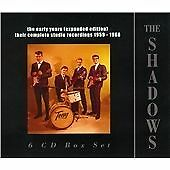 THE SHADOWS - THE EARLY YEARS 1959-1966 COMPLETE - 2013 PARLOPHONE EXPANDED 6xCD