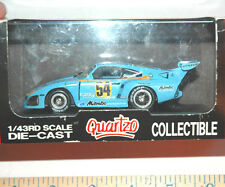 Quartzo Porsche 935 Kremer K3 DRM Mambo #54 Die Cast Model Race Car 1:43 1979