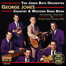 Jones Boys Orchestra - George Jones Country & Western Songbook [New CD]