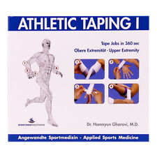 ATHLETIC TAPING 1 Obere Extremität CD-ROM, Sportmedizin, Taping-Techniken, NEU