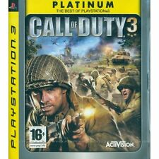 Call of Duty 3 PS3 Sony PlayStation 3 Brand New Factory Sealed