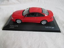 Minichamps 430171722 Volvo C70 Coupé red 1:43 MIB