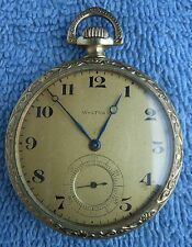 A.W.W.Co. Waltham Pocket Watch Art Deco