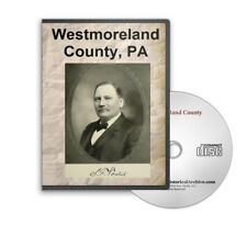 Westmoreland County. PA Pennsylvania History Culture Genealogy 9 Books - D247