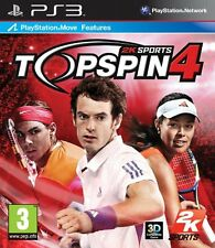 Top Spin 4 PS3 * En Excelente Estado *