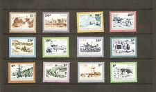 GUERNSEY POSTAGE DUE SET OF 12. 1982.