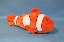 Large Premier Luxury Ark Toys plush Clown fish cuddly toy sea creature LAMO eyes