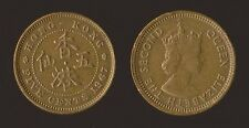 HONK KONG 5 CENTS 1967 - QUEEN ELIZABETH II
