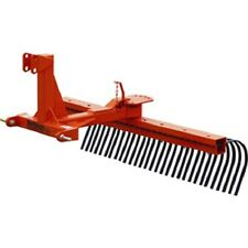 NEW! 5' Rock Landscape Rake Attachment Category 1 Pins; Category 0 Spacing!!