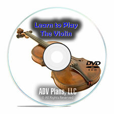 How To Play the Violin with the Masters, Beginner Instructional Video DVD E93