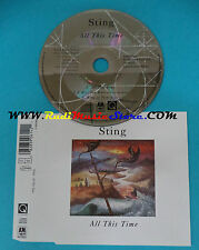 CD Singolo Sting All This Time 390 614-2 EUROPE 1991 no mc lp vhs(S23)