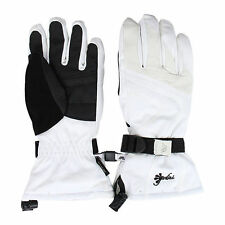 NEW $70 Gordini Gore-Tex Stormtrooper Womens White Black Ski Gloves Size Medium