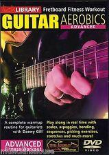 Lick Library Guitar Aerobics avanzada aprender a jugar diapasón Entrenamiento lección Dvd
