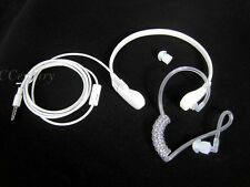Surveillance Security Throat Mic Acoustic Air Tube Earpiece PTT for iPhone A145
