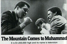 1975 Boxing Article ~ MUHAMMAD ALI & Ron Lyle ~ Howard Cosell ~ TV'S BIG MONEY