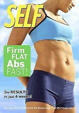 SELF - FIRM, FLAT ABS FAST! (DVD) workout bodies in shape SEALED NEW