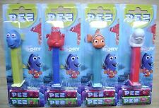 NEW 2016 EUROPEAN PEZ MINT ON CARDS SET OF 4 DISNEY PIXAR FINDING DORY MOC
