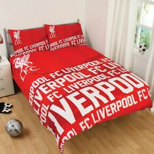 Official Liverpool F.C.Impact Double Duvet Cover Bedding Set