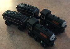 2001 Learning Curve Wooden Thomas Train Scottish Twins Donald & Douglas!
