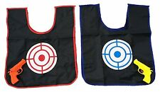 2 Player Childrens Toy Squirt Gun and Color Changing Target Vest Game