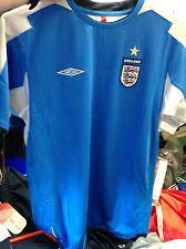 Camisa de Inglaterra 2002/4 goalieshome Camisa en pequeños en £ 18 para hombre Manga larga BNWL