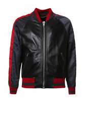 NWT Givenchy Leather Bomber+tags&receipt s 50