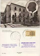 GABRIELE D'ANNUNZIO - PESCARA CASA DOVE NACQUE IL POETA - 40° DELLA MORTE 1978
