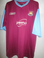 West Ham United 2005-2007 Home Football Shirt Size XL /19956