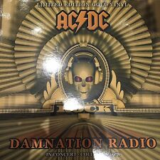 "AC DC ""DAMNATION RADIO"" IN CONCERT 1978 LTD EDT GOLD VINYL LP  - NEW / SEALED"