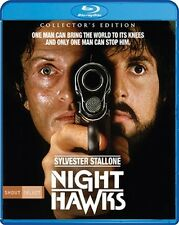 NIGHTHAWKS New Blu-ray Collector's Edition Sylvester Stallone Rutger Hauer
