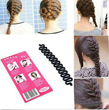 New French Hair Braiding Tool Roller With Magic hair Twist Styling Bun Maker