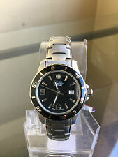 newstuffdaily: NIB WENGER Swiss Military Black Dial Sports Elegance Ladies Watch
