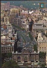 ANTIGUA POSTAL DE MADRID . CALLE Y PUERTA DE ALCALA . MAS EN MI TIENDA CC1549