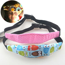 Coloful Baby Head Support Stroller Car Seat Fastening Belt Sleep Safety Strap
