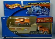 TH Hot Wheels Pavement Pounders Treasure Hunt Orange 57 Thunderbird t bird NEW