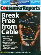 2014 Consumer Reports Magazine: Break Free From Cable/Mazda3/Jeep Cherokee