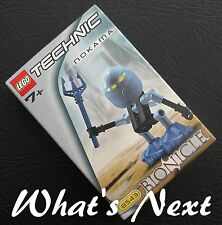 LEGO TECHNIC 2001 BIONICLE   #8543 Turaga NOKAMA Figure  NEW  SEALED  EC  RARE