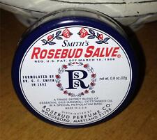 NEW Smith's Rosebud Salve Rosebud Perfume Co. .8 Oz