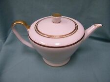 ROSENTHAL GERMANY # 3294 BETTINA GOLD TRIM TEAPOT TEA POT