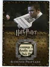 Harry Potter Order the Phoenix Update The Daily Prophet PROP Card P5 254/280