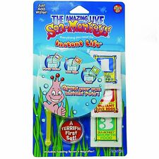 Sea Monkeys instantánea de la vida
