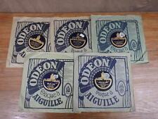 5x DISQUE 78 RPM LOUIS LYNEL Odeon  VOIR DETAIL ANNONCE