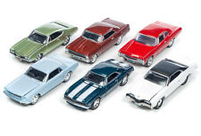 JOHNNY LIGHTNING 1:64 MUSCLE CARS USA 2016 RELEASE 2C DIECAST CAR SET JLMC002C