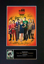 THE BIG BANG THEORY Signed Mounted Autograph Photo Print (A4) No272