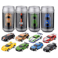 Rechargeable Mini 1:58 Coke Can RC Radio Remote Control Racing Car Toy Kids Gift