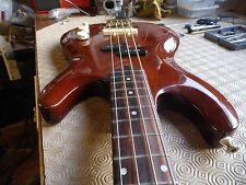 P bass MIJ by Franconia Circa 1970: functional restoration & set up by me.