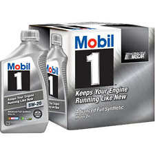 Mobil 1 Advanced Full Synthetic Motor Oil 5W-20 - 6 Pack Of 1 Quart each